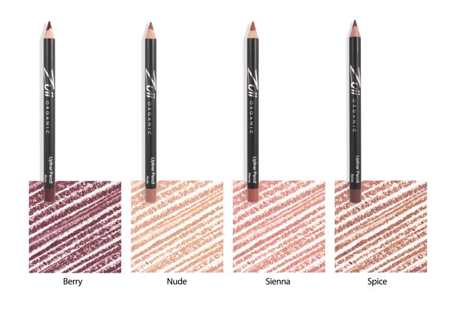 Lipliner pencil swatches (2)