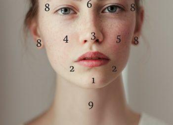 Face Mapping – Mitä finnien sijainti kertoo terveydestäsi?