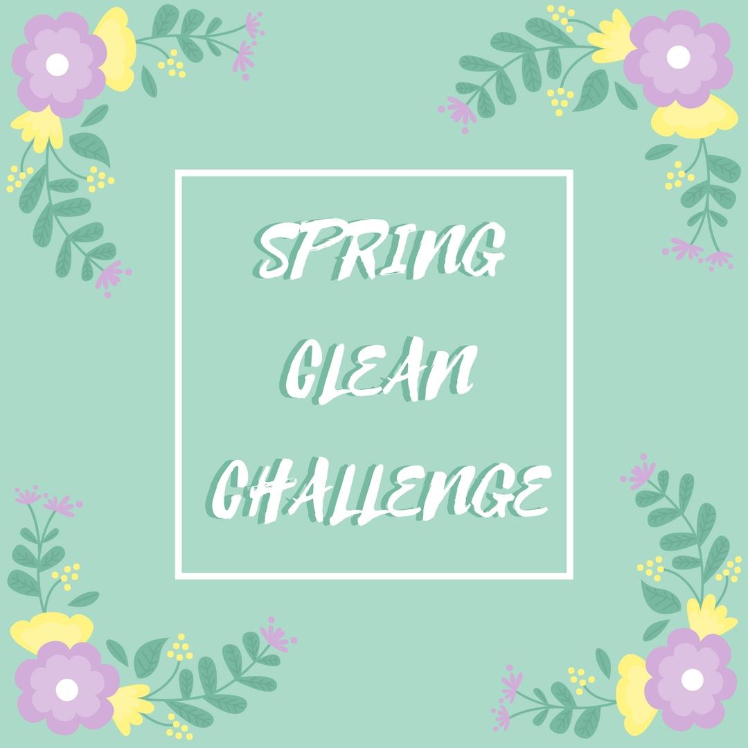 Spring Clean Challenge