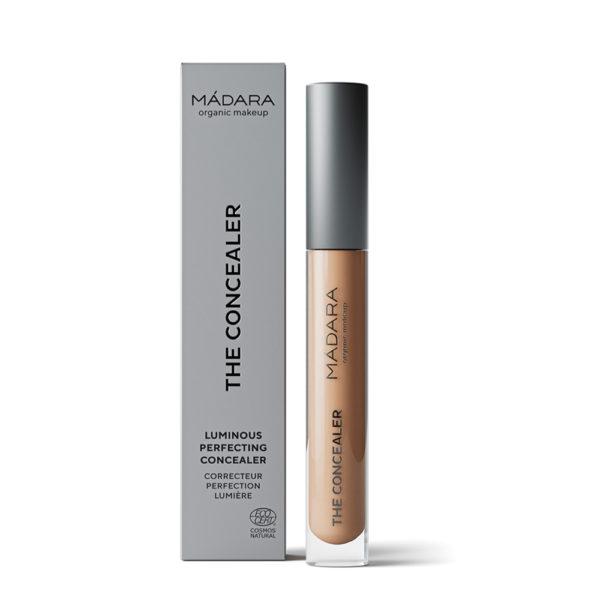 Mádara Luminous Perfecting Concealer -Nestemäinen Peitevoide Almond 45