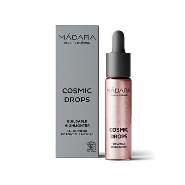 MÁDARA Cosmic Drops Buildable Highlighter -Nestemäinen Korostustuote Cosmic Rose 2