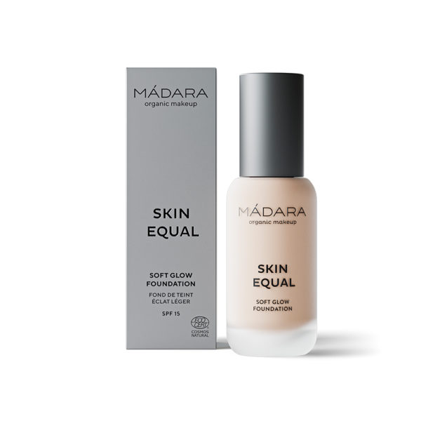 Mádara Skin Equal Soft Glow Foundation -Kuulas Meikkivoide Porcelain 10