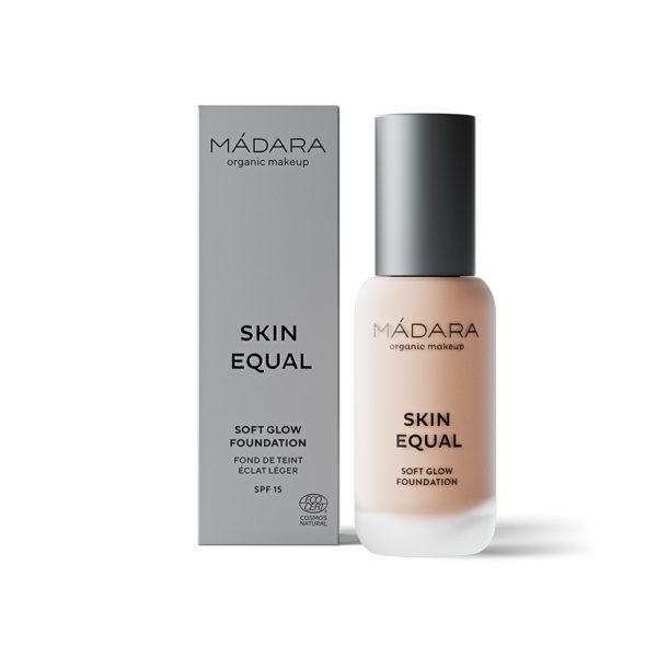 Mádara Skin Equal Soft Glow Foundation -Kuulas Meikkivoide Rose Ivory 30