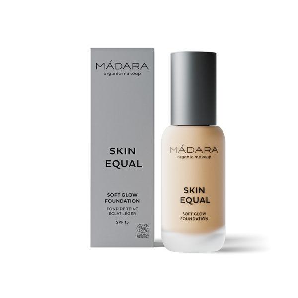 Mádara Skin Equal Soft Glow Foundation -Kuulas Meikkivoide Ivory 20