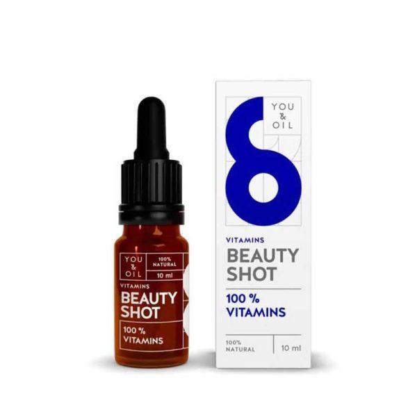 Y&O Beauty Shot Oil 100% vitamins