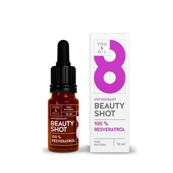 Y&O Beauty Shot Oil 100% resveratrol