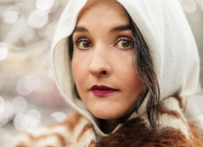 Jolien talven meikkilook on Wild Silence